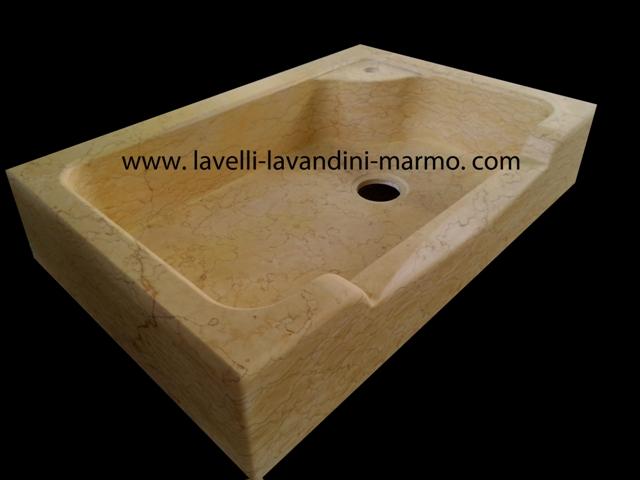 Lavello in marmo o pietra a vasca unica - Lavandini da cucina in ceramica ...