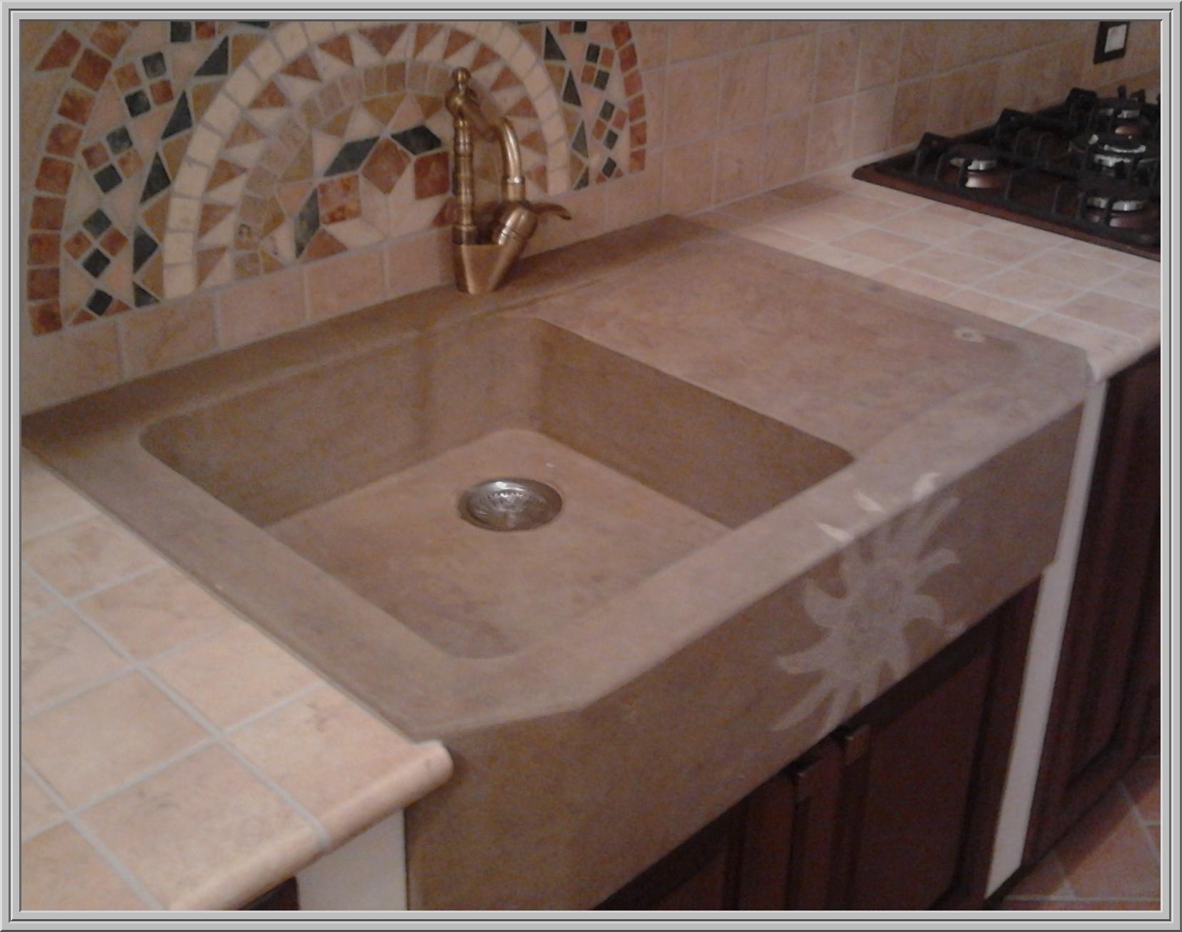 Marmo pietra acquaio scavato cucina esterno taverna art lav5a - Lavandini in marmo per cucina ...