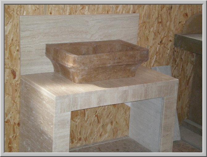 Prezzi lavelli lavandini lavabi piatti doccia in marmo - Lavabo bagno marmo prezzi ...