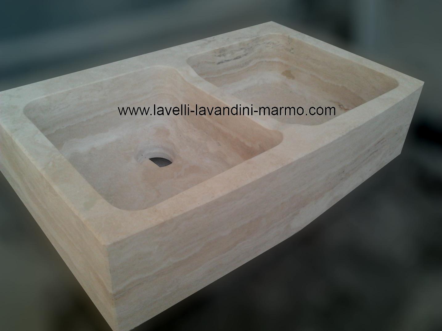 Lavello Cucina Marmo: Lavelli in graniglia di marmo da appoggio ...