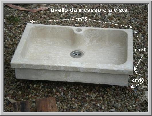 Emejing Lavandini Da Cucina In Pietra Photos - Ideas & Design 2017 ...