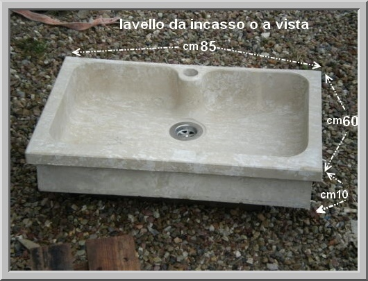 Prezzi lavelli lavandini lavabi piatti doccia in marmo - Lavandini in marmo per cucina ...