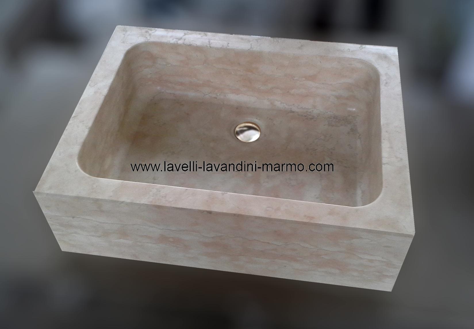 marmo pietra acquaio scavato, cucina esterno taverna ART.LAV4A