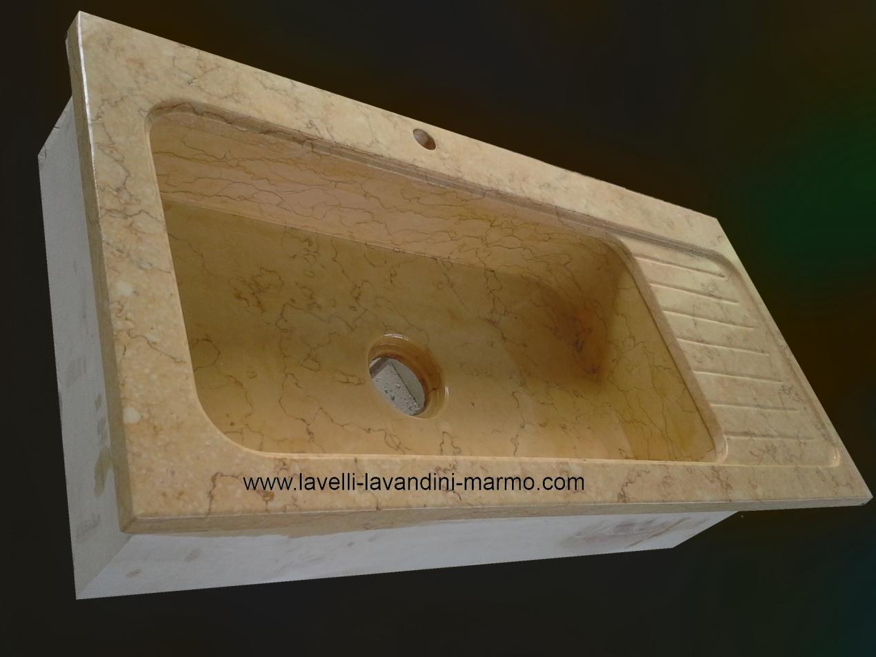 Lavello cucina lavandini lavabi piatti doccia in marmo pietra mobili da bagno arredamento - Lavandini da cucina in ceramica ...
