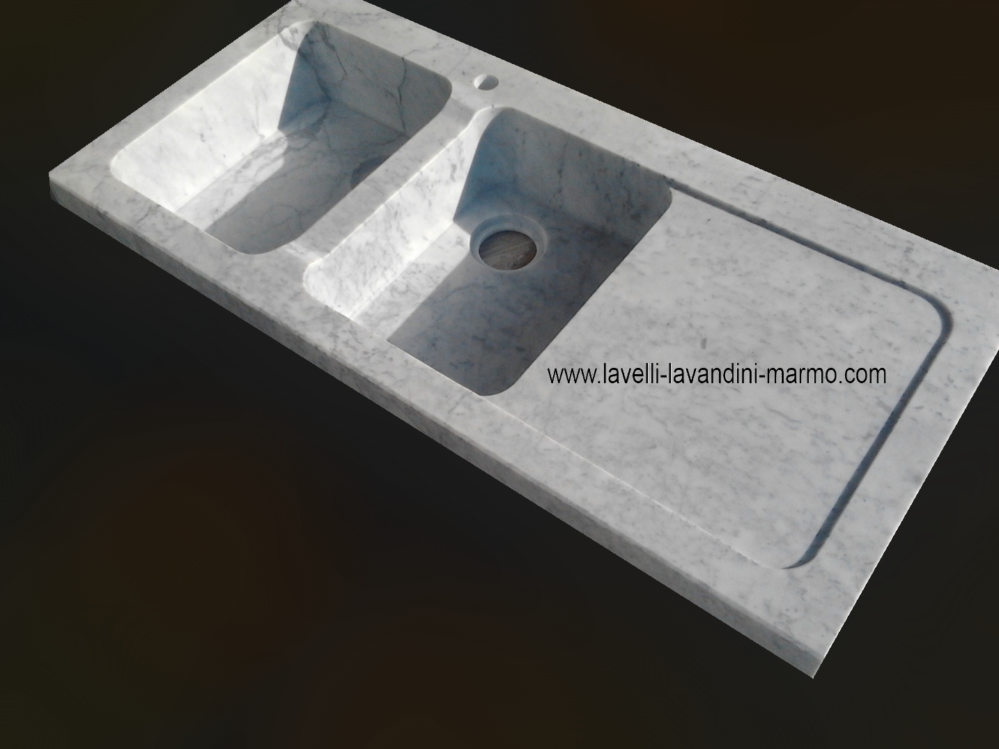 cucina in muratura lavello da incasso in pietra o marmo | ebay - Lavandini Cucina In Pietra