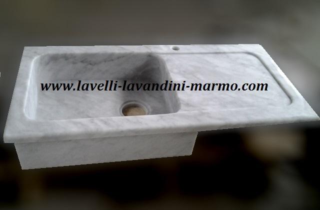 Lavello cucina lavandini lavabi piatti doccia in marmo - Lavandini per cucina da incasso ...